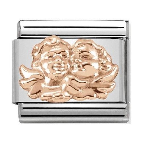 Nomination -  Link 9K Rose Gold Aniołek rodziny 430106/07