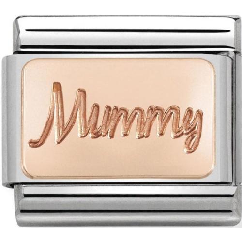 Nomination -  Link 9K Rose Gold 'Mummy' 430101/42