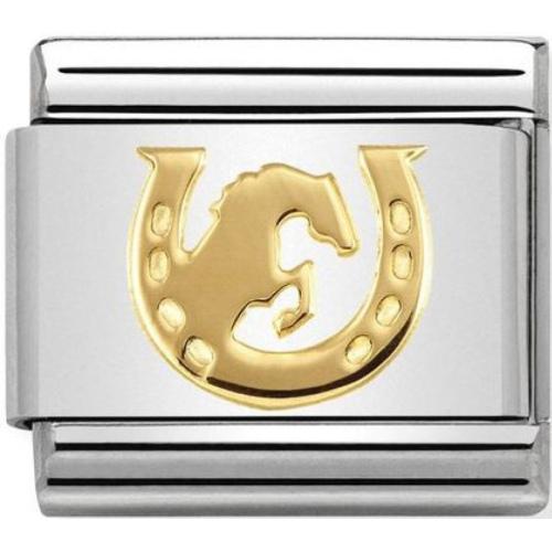 Nomination - Link 18K Gold 'Skoki Konne' 030149/30