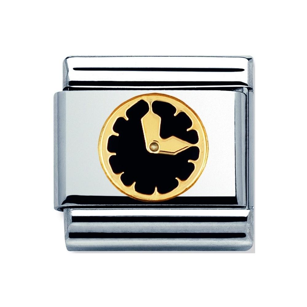 Nomination - Link 18K Gold Zegar  030242/08
