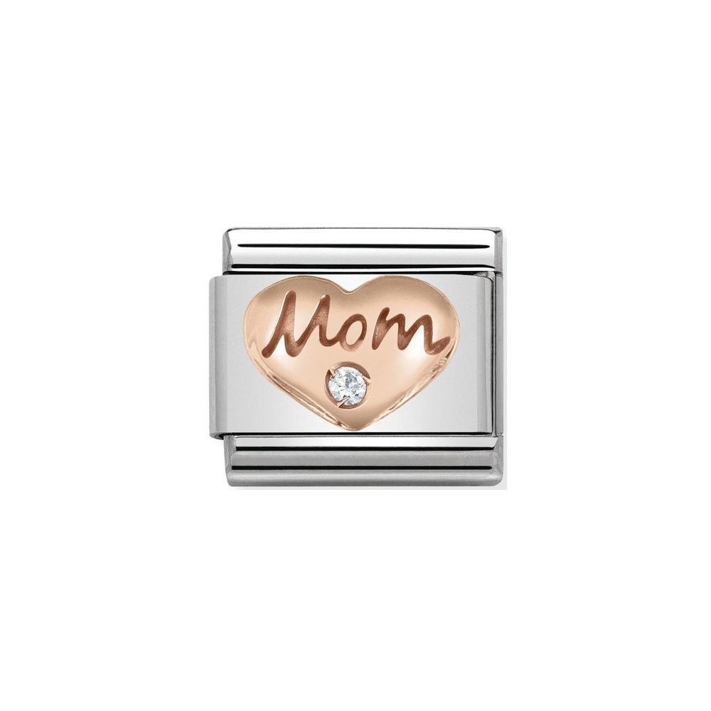 Nomination - Link 9K Rose Gold Mom 430305/09