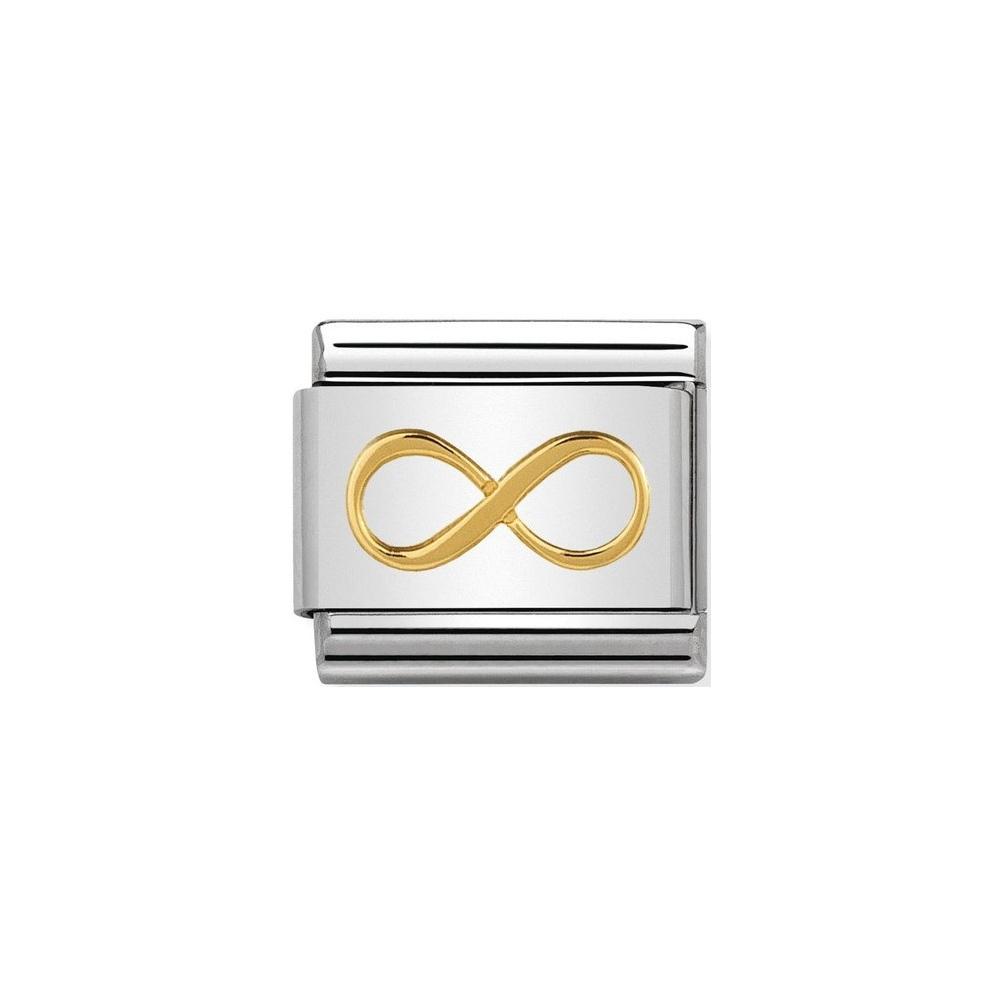 Nomination - Link 18K Gold 'Nieskończoność' 030162/41