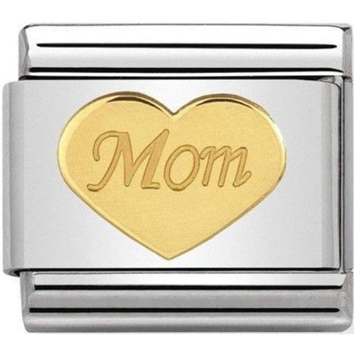 Nomination - Link 18K Gold 'Mama' 030162/37