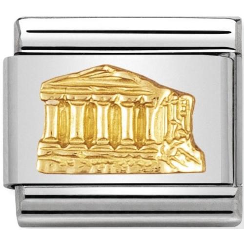 Nomination - Link 18K Gold 'Partenon' 030123/02