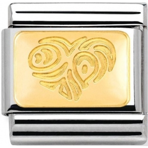 Nomination - Link 18K  Gold 'Serce' 030121/20