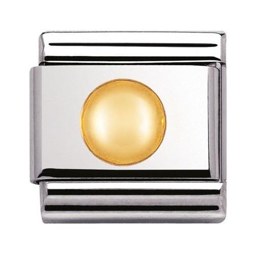 Nomination - Link 18K Gold 'Kropka' 030110/13