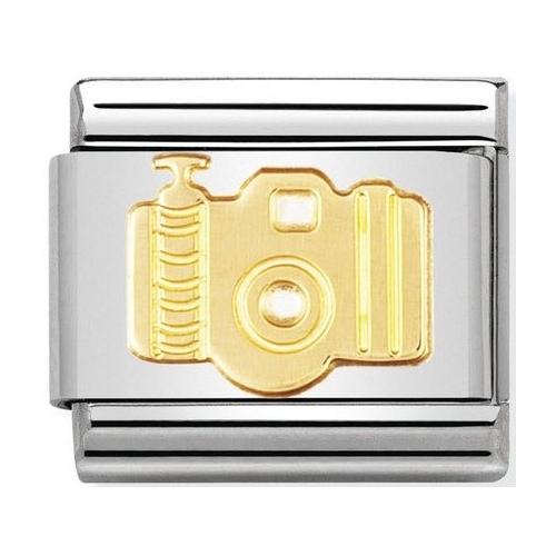 Nomination - Link 18K Gold 'Aparat' 030108/09