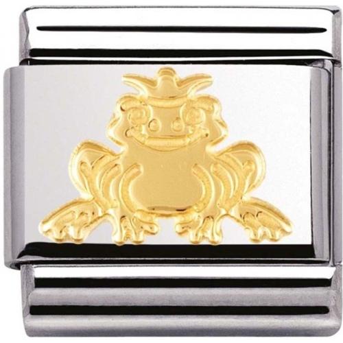 Nomination - Link 18K Gold frog Prince 030149/08