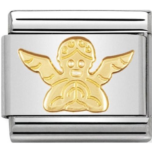 Nomination - Link 18K Gold 'Aniołek' 030105/04