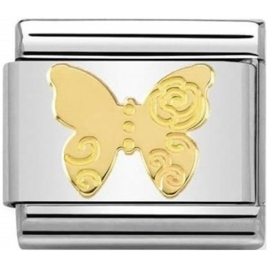 Nomination - Link 18K Gold Motyl 030162/13