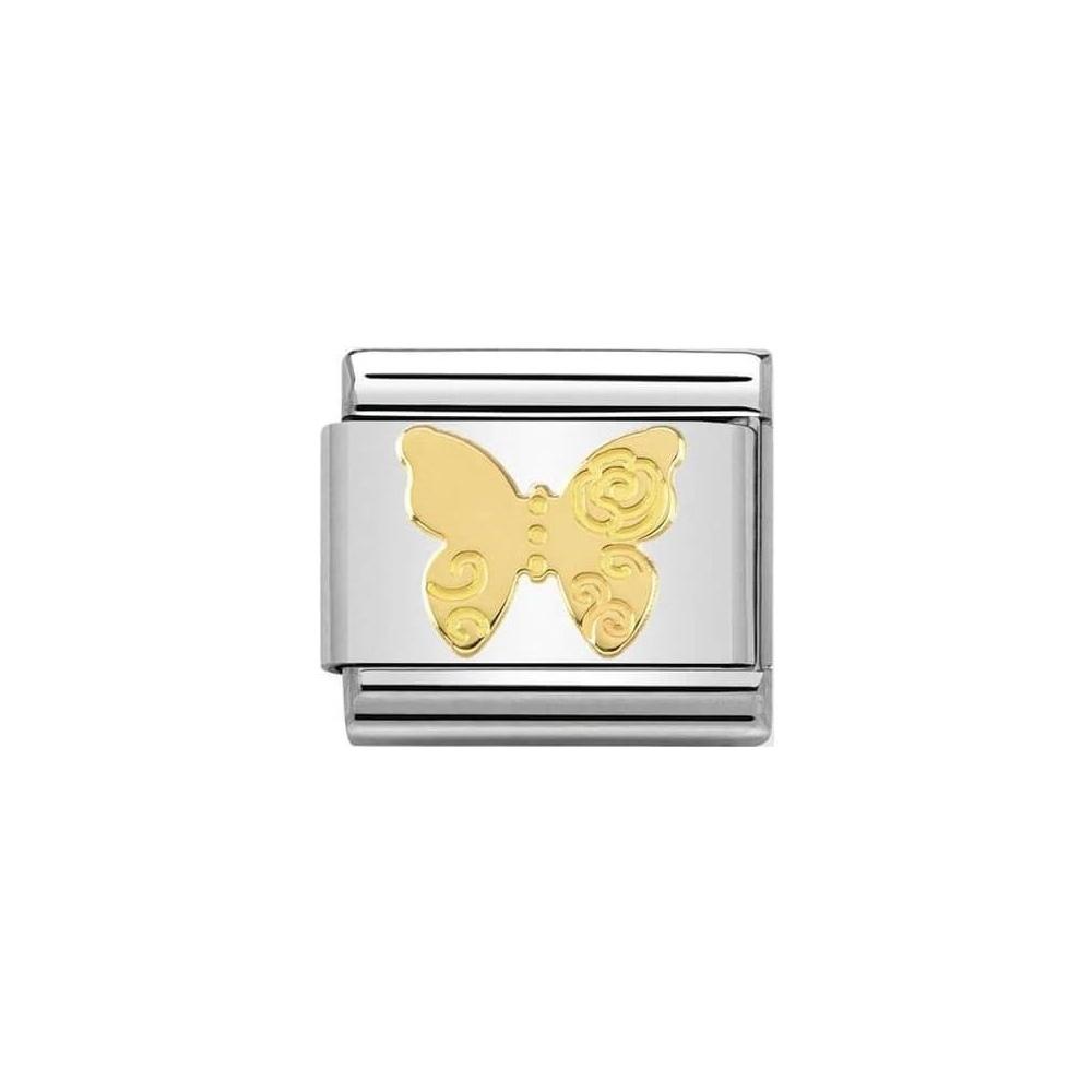 Nomination - Link 18K Gold Motyl 030162/13
