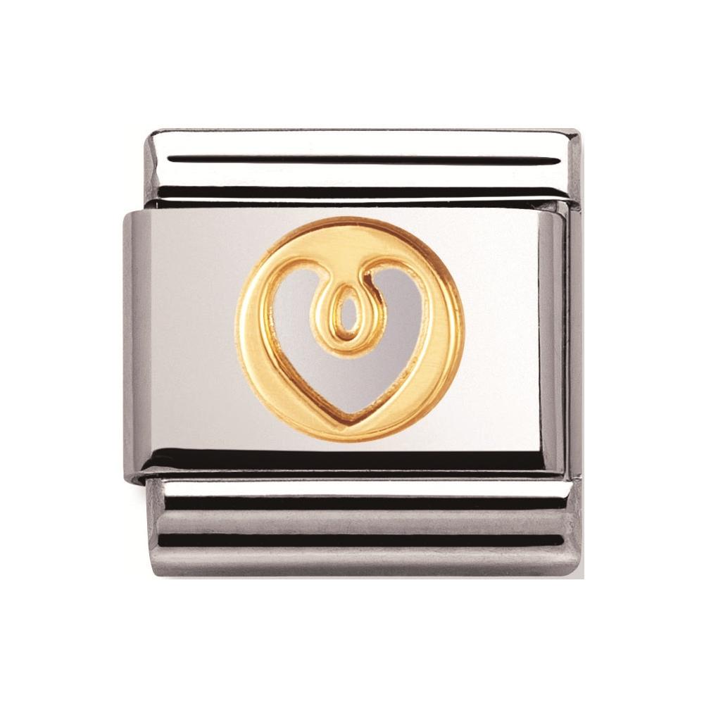 Nomination -  Link 18K Gold Serce 030152/01