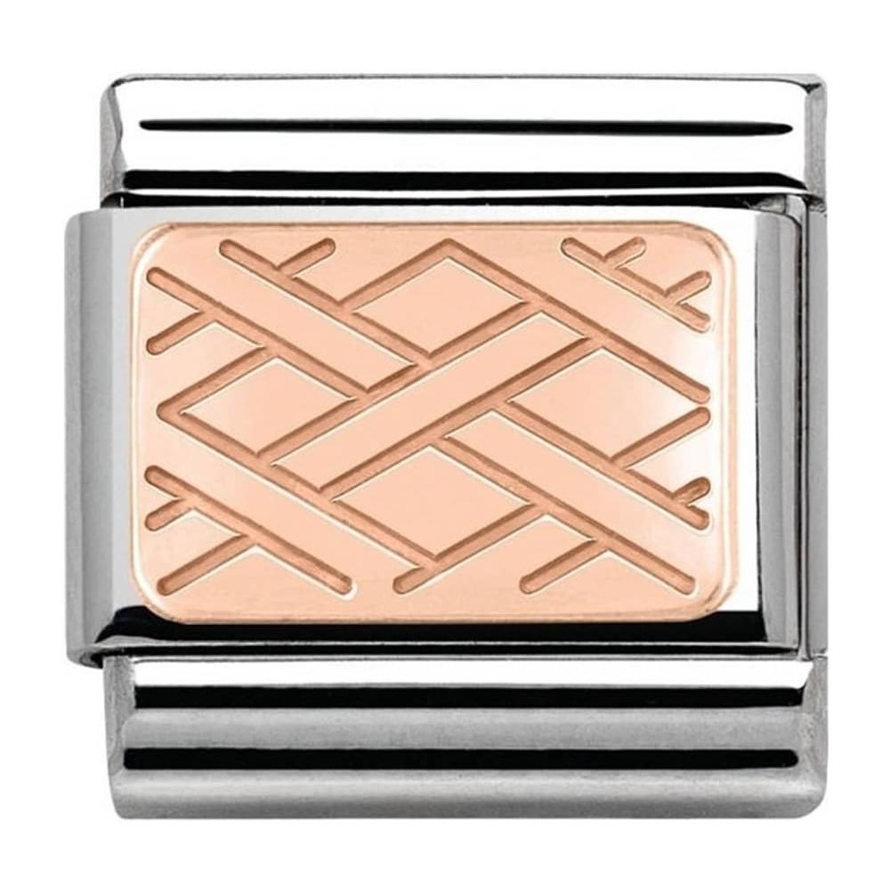 Nomination - Link 9K Rose Gold 'Weave' 430101/03