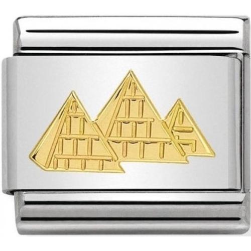 Nomination - Link 18K Gold 'Piramidy' 030145/24