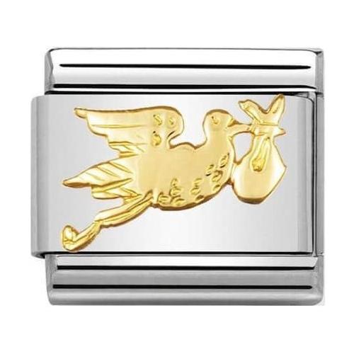 Nomination - Link 18K Gold 'Bocian' 030122/21