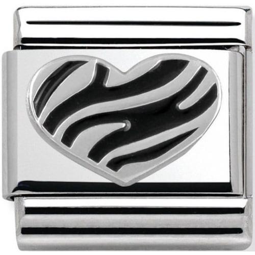 Nomination - Link 925 Silver 'Serce' 330101/04