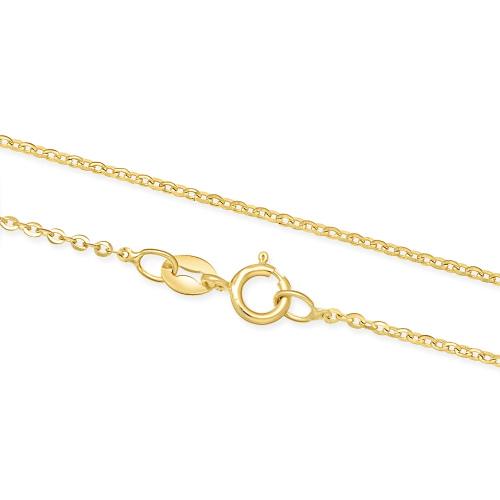 Złoty Łańcuszek Ankier 40cm pr. 585