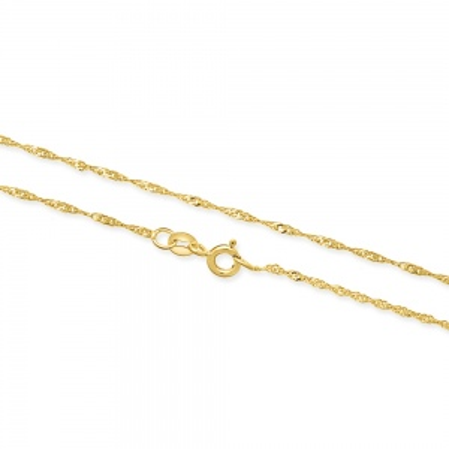 Złoty Łańcuszek Singapur 50cm pr. 333
