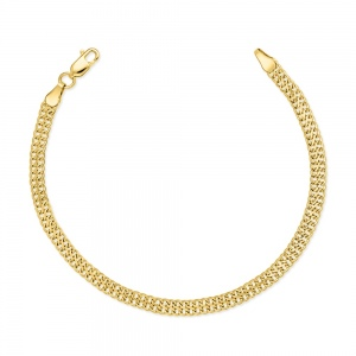Złota Podwójna Bransoletka 19cm pr. 585