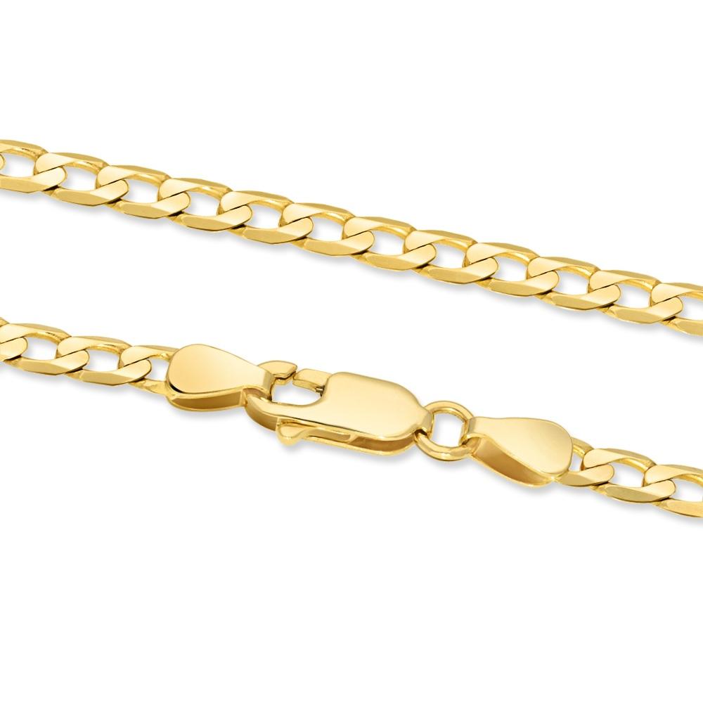 Złoty Łańcuszek Pancerka 55cm pr. 585
