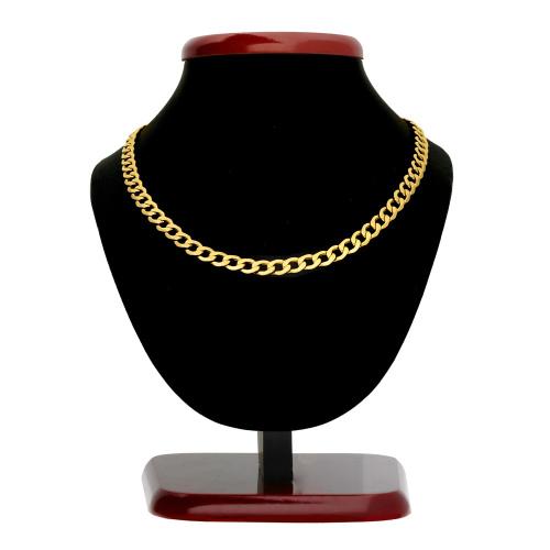 Złoty Łańcuszek Pancerka 50cm pr. 585
