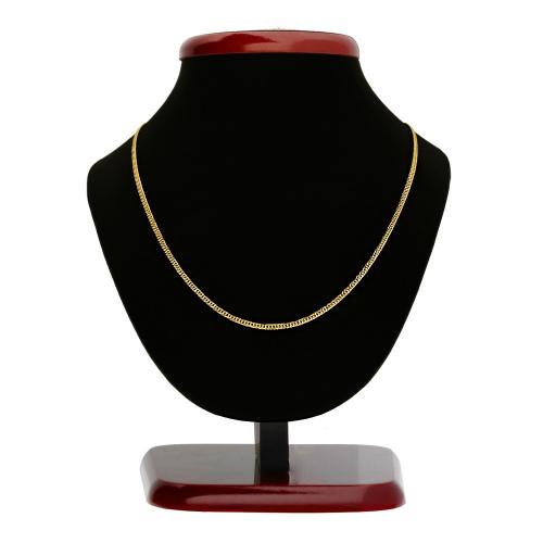 Złoty Łańcuszek Podwójna Pancerka 45cm pr. 585