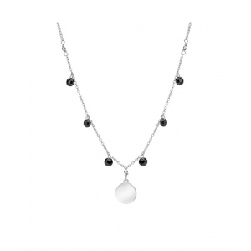 Srebrny naszyjnik - Potrójne Serca pr.925