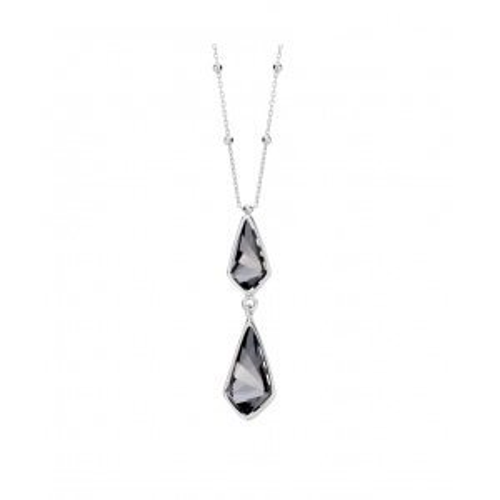 Srebrny naszyjnik - Kryształ pr.925
