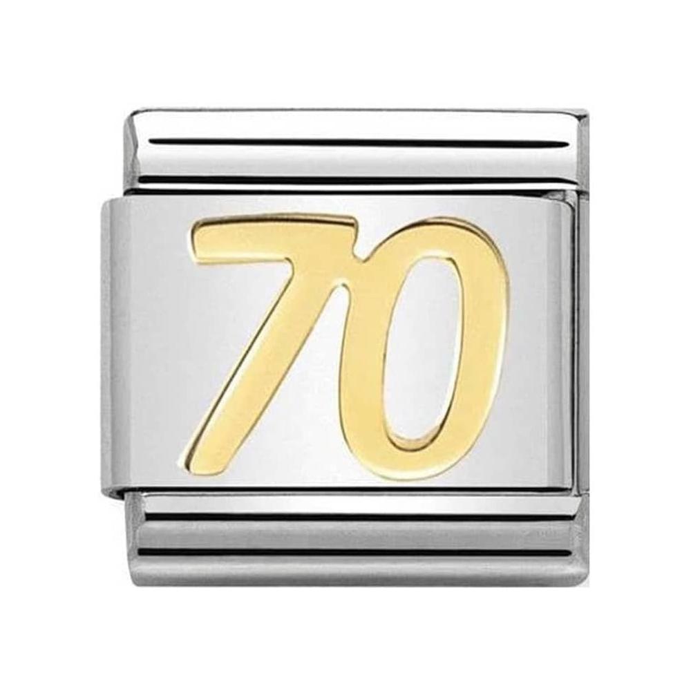 Nomination - Link 18K Gold '70' 030109/38