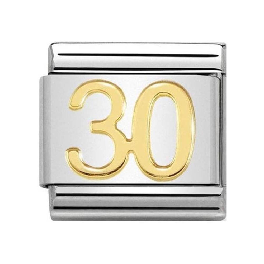 Nomination - Link 18K Gold '30' 030109/40