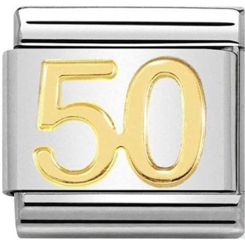 Nomination - Link 18K Gold '50' 030109/42