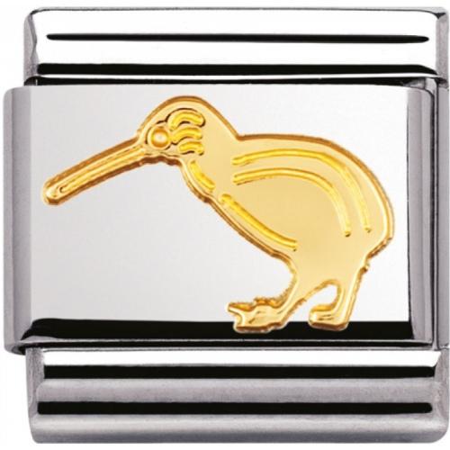 Nomination - Link 18K Gold 'Kiwi' 030114/08