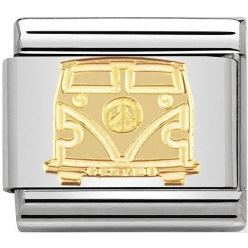 Nomination - Link 18K Gold 'Van' 030148/03