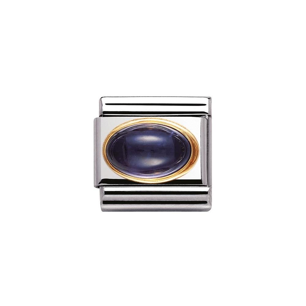 Nomination - Link 18K Gold 'Iolite' 030504/04