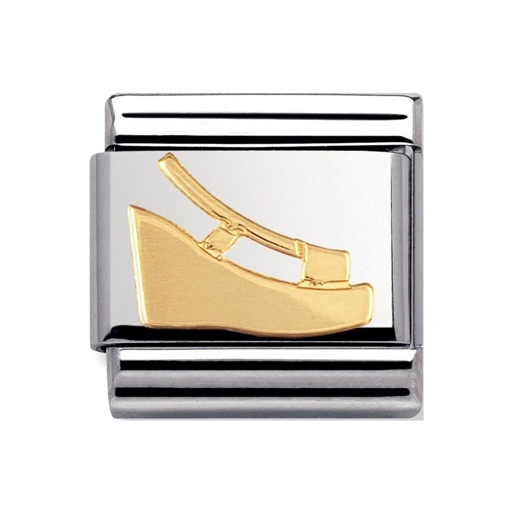 Nomination - Link 18K Gold '70 s Shoe' 030148/13
