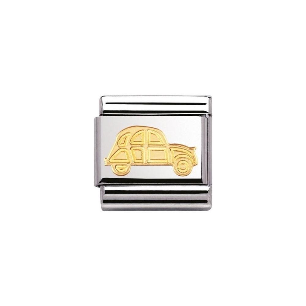 Nomination - Link 18K Gold 'Hippie Car' 030148/16