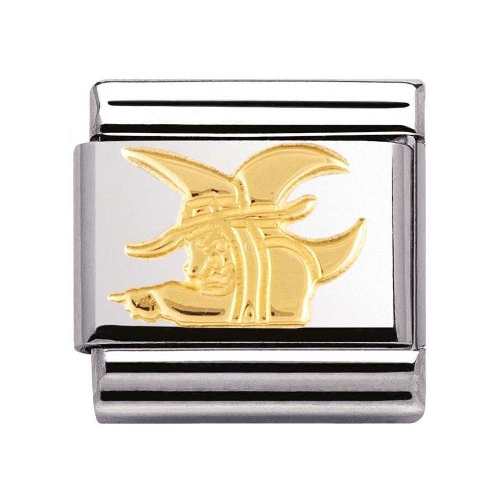 Nomination - Link 18K Gold 'Czarownica' 030149/06