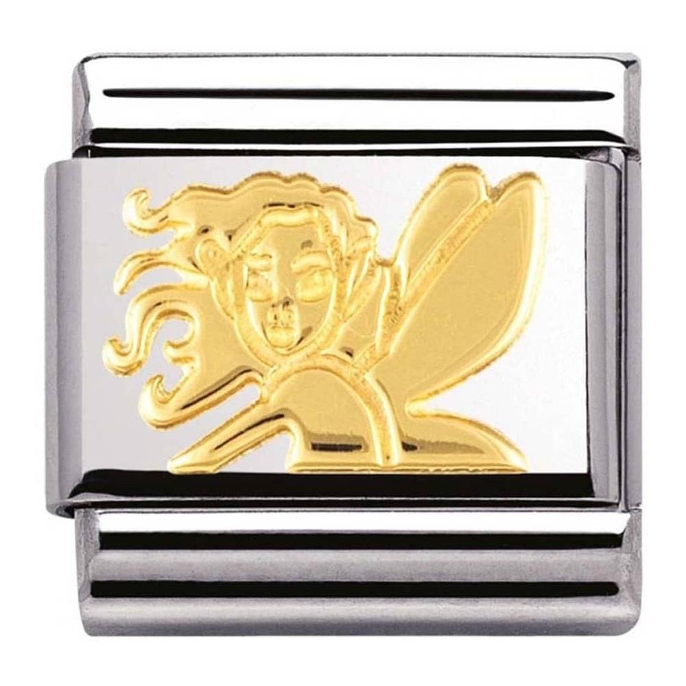 Nomination - Link 18K Gold 'Wróżka Przyjaźni' 030149/10