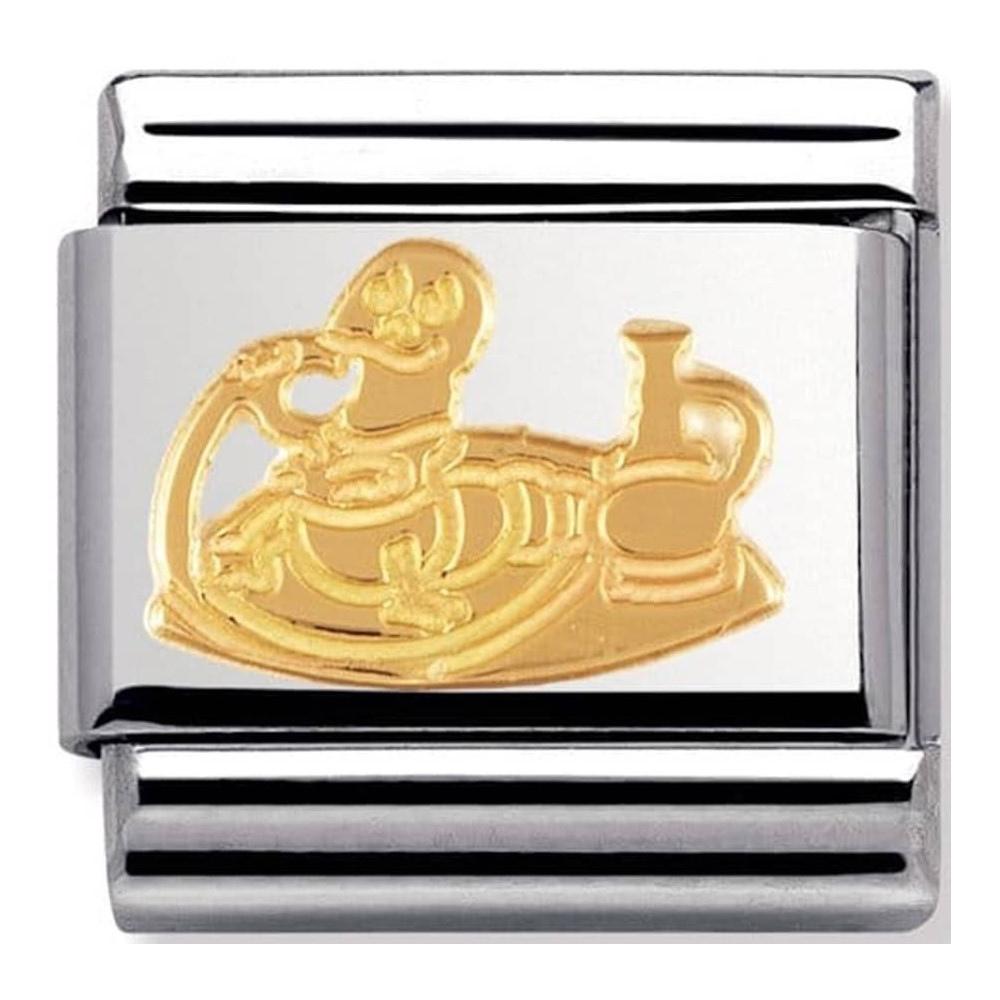 Nomination - Link 18K Gold 'Gąsienica' 030149/20