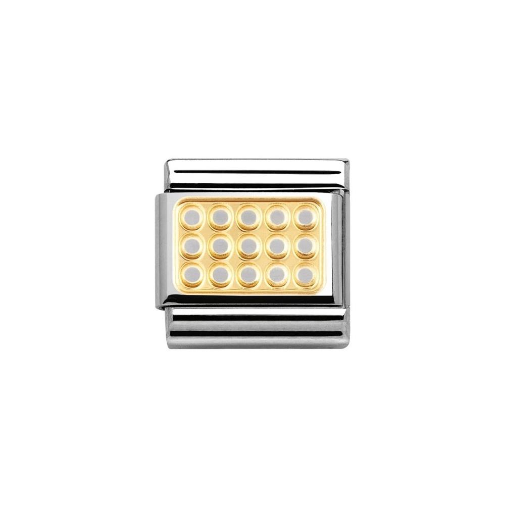 Nomination - Link 18K Gold 'Grill' 030153/02