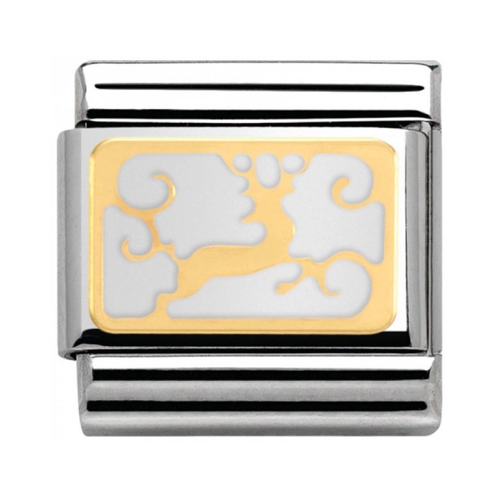 Nomination - Link 18K Gold 'Renifer' 030160/03