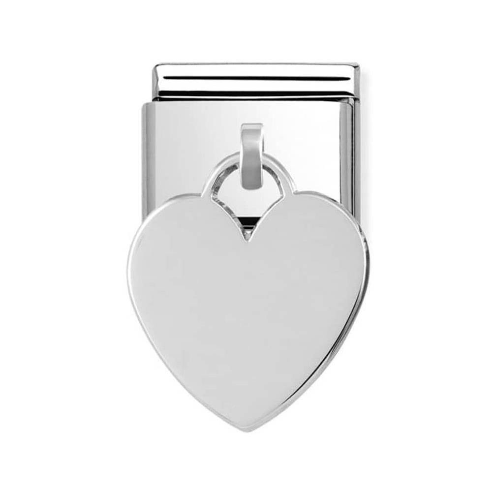 Nomination - Link 925 Silver 'Serce' 331801/02