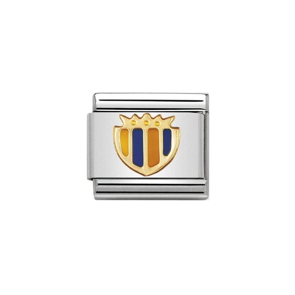 Nomination - Link 18K Gold 'Tarcza' 030204/08