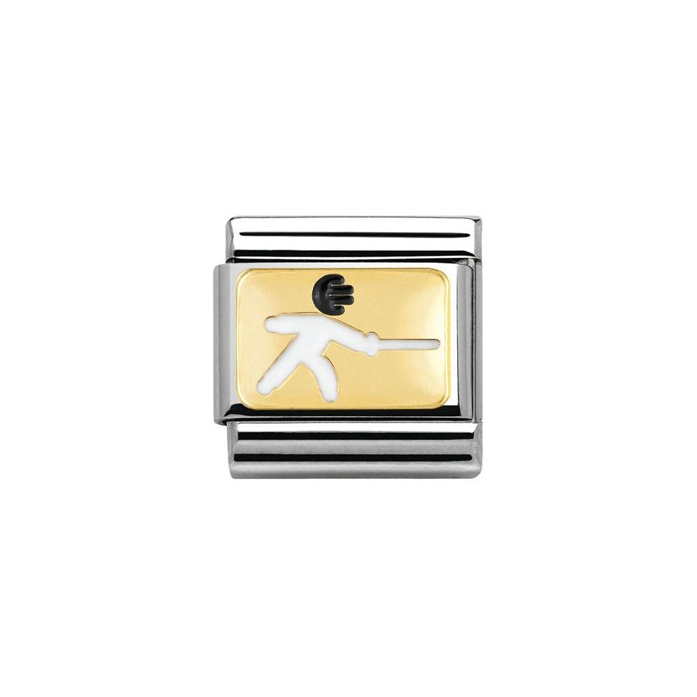 Nomination - Link 18K Gold 'Scherma' 030259/06