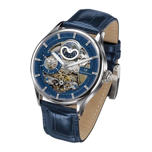 Zegarek Carl von Zeyten CVZ0008BL KniebisAutomatic Skeleton