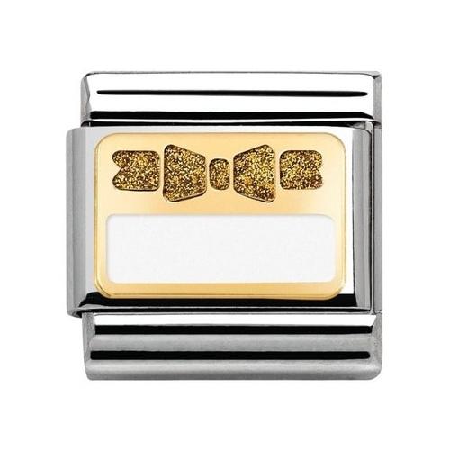 Nomination - Link 18K Gold 'Kokardka' 030280/44
