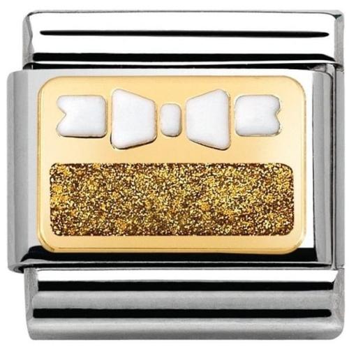 Nomination - Link 18K Gold 'Kokardka' 030280/45