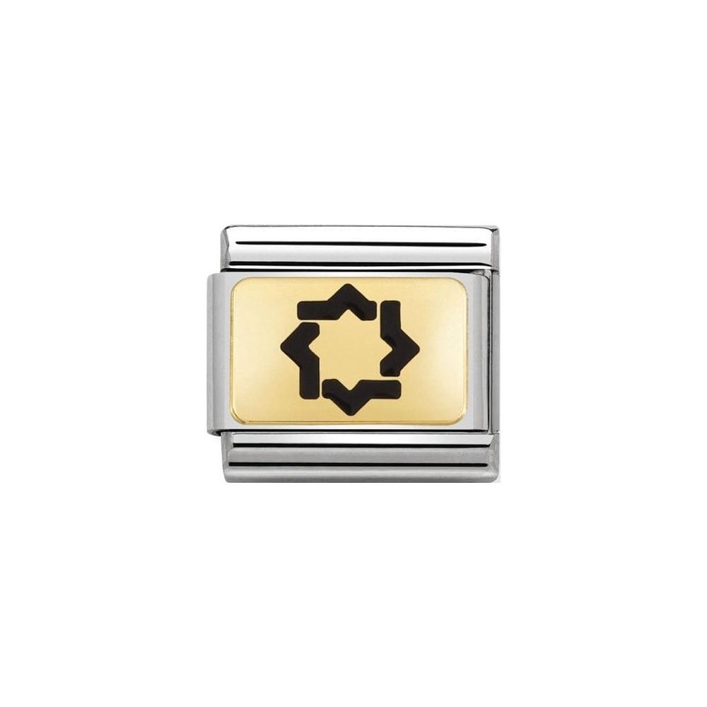 Nomination - Link 18K Gold 'Stella Mudejar' 030284/21