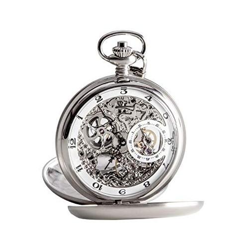 Zegarek Carl von Zeyten CVZ0039WH Taschenuhr Pocket Watch