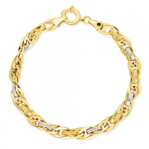 Złota Bransoletka 18cm pr. 585